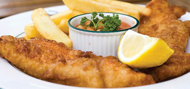 The Fish & Chips Room