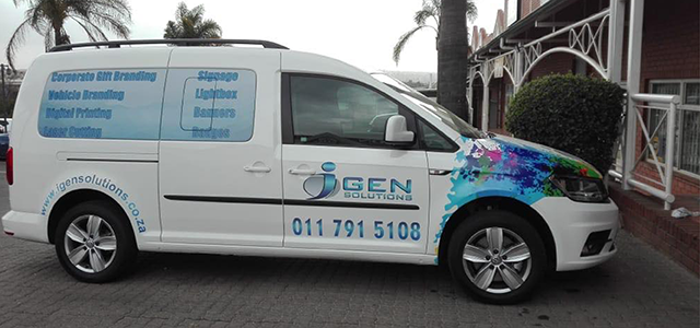 I Gen Solutions Vehicle Branding