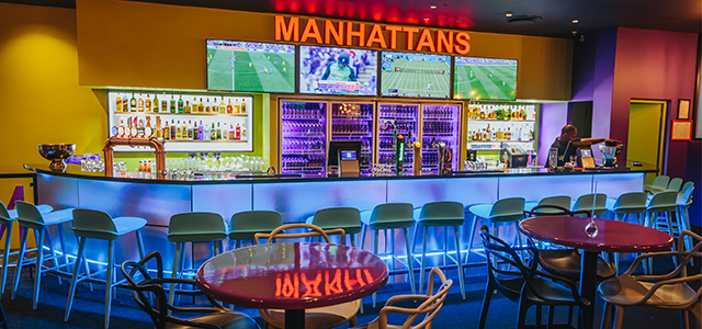 Manhattans Action Bar
