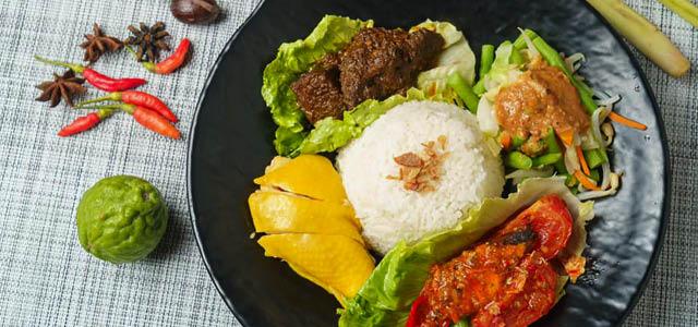 Pandan Leaf Indonesian Food