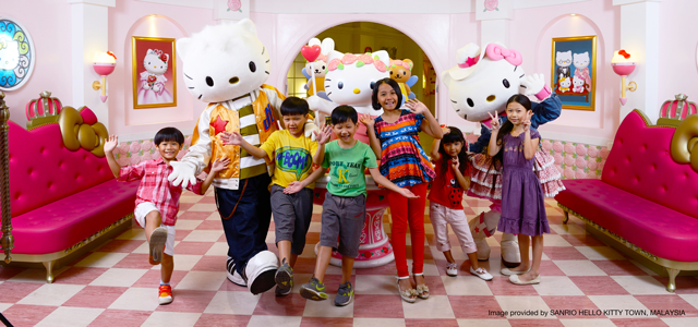 Sanrio Hello Kitty Town and Thomas Town
